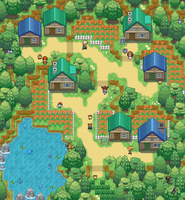 Just a random town - Springhive Town by Phyromatical