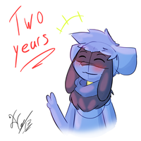 Two years on Da by Xael-The-Artist