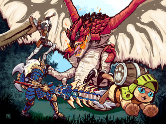 Monster Hunter World by Requiem-Delacroix