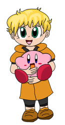 Sammy and Kirby by TopHatLycanthrope