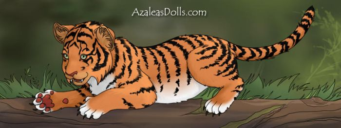 Fang the Tiger Cub by Jayko-15