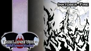 [VIDEO] Inktober 2016 - Serandite Fire by Temrin