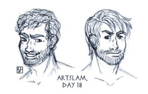 Artslam: Muse Day 18 by KabochaN