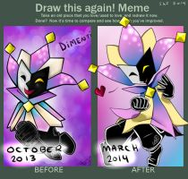 Draw this again meme - Dimentio by ScreeKeeDee