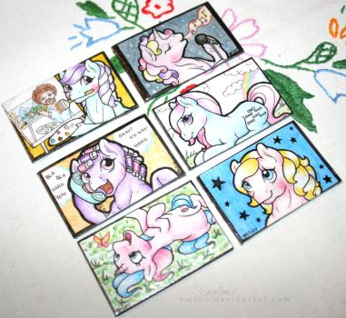 My Little Pony Magnets by Emfen