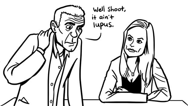 It's not lupus by hedgefield