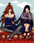Mei and Hinata chillin' by justyna-bien