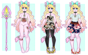 [Adopts]: Wilting Daisy Lockette (CLOSED) by SimplyDefault
