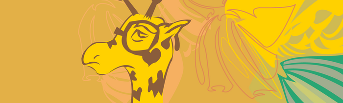 G is for Giraffe, G is for Glasses by Dalyrimple