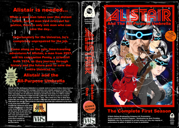Alistair the Complete Season One - Revised Cover by RGPublications