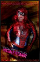 SpiderGirl BodyPainting Samanthawpg.Com by VisualEyeCandy