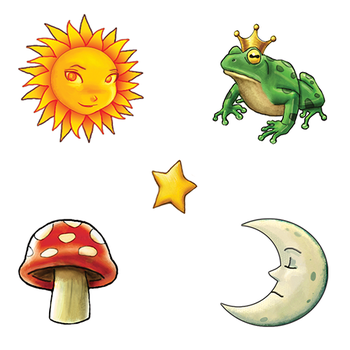 Children's Game Icons by TheArtOfSanhueza
