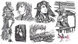 Final Fantasy XIII-2 by Terra7