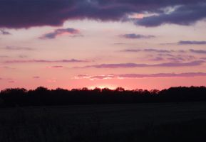 sunset 3 by almosthuman75