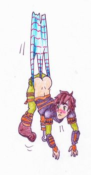 Request - Hiccup wedgie by Black-Chocobo99