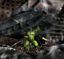 World War Hulk by RawArt3d