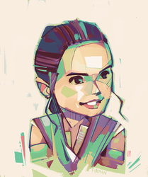 Rey-a-Day 36 by michaelfirman