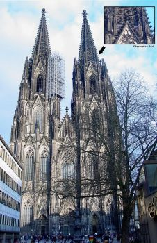 Koln Cathedral by arcanjel