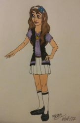 colored version of Karin by Bella-Who-1