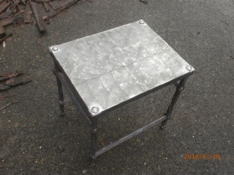 forged small table (top) by SvenEinherji