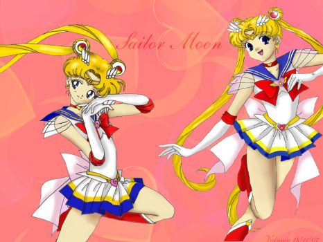 Sailor Moon background by Valynia