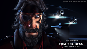 Team Fortress II: Ground Zeroes [MGS:GZ] by zimsd619