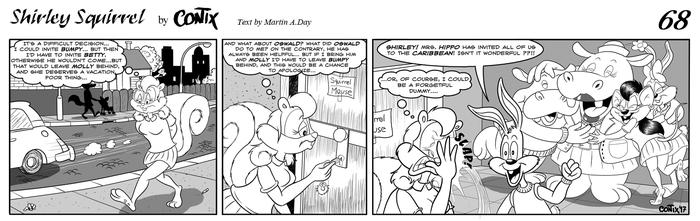 Shirley Squirrel - strip 68 - ENG by Contix