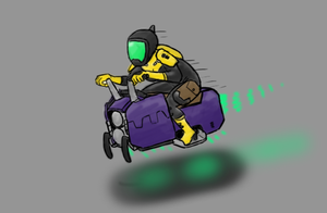 Holly Hoverbike by ScottaHemi