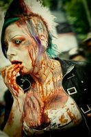 . death hawk zombie . by Countess-Grotesque