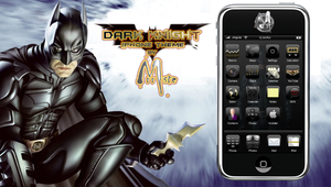 Dark Knight iPhone by mrrste