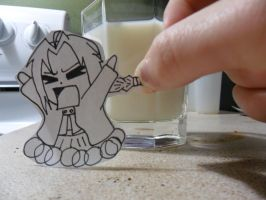 Edward Elric Paper Child by CopperLetters