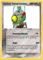 Zombot Tomorrow-tron pokemon card by magolorandmarx