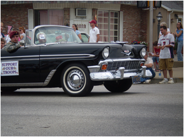 1956 Chevy Convertible by RoidMonkey
