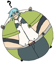 Inflated Sinon Colored by NepuOfInflation