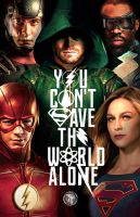 DCTV Poster (Justice League Style) by Timetravel6000v2