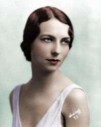 Agnes Moorehead Colorized by ajax1946
