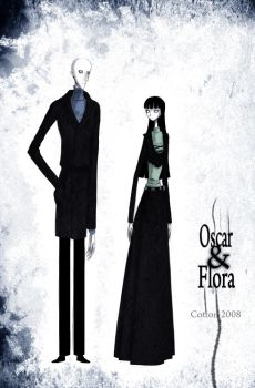 Oscar and Flora by CottonValent