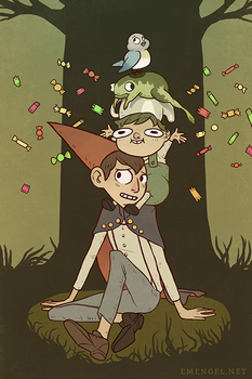 Over the Garden Wall by emengel