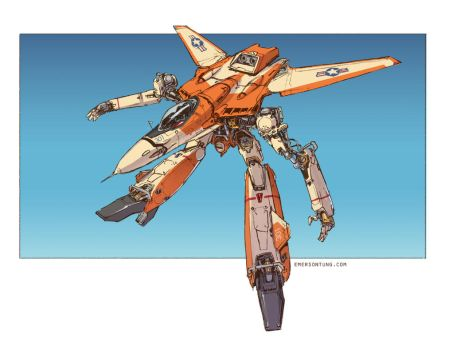 Macross - Trainer by emersontung