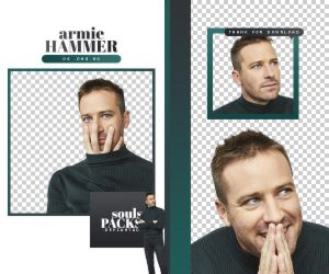 PACK PNG 214 . ARMIE HAMMER by SOULS-PNGS