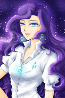Miss Rarity by ann4rt