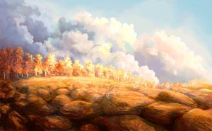 Autumn clouds by Helvende