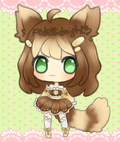 Adoptable: Tiramisu kitty [CLOSED] by MidnightAdoptss