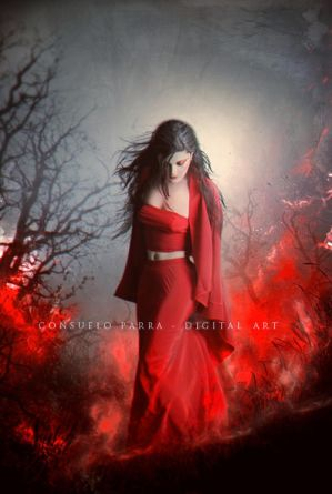 Red fire by Aeternum-designs