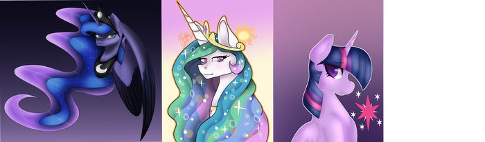 Princess Collab ~ Twilight by couchpotato77