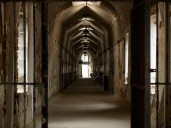 Eastern State Penitentiary 26 by Dracoart-Stock