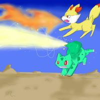My Pokemon Y partners by Nightscore07