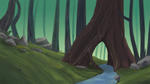 Forest Landscape (Speedpaint link) by The-odd-crow