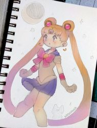 She is the one... Sailor Moon! by KittyCouch