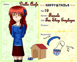 Happy Tails Third App ~ Dalla Aoife by TheYamiClaxia